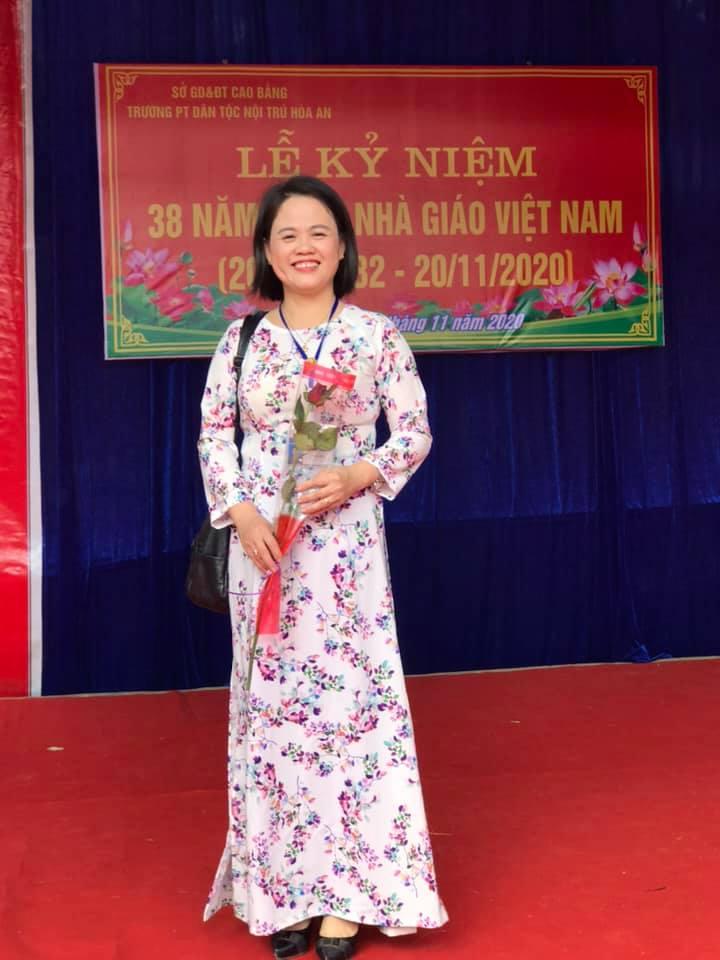 """Chị Nguyễn Thu Huệ - Giáo viên Trường THDTNT tỉnh Cao Bằng: """"Rất mong HEVINA ngày càng phát triển vững mạnh"""""""