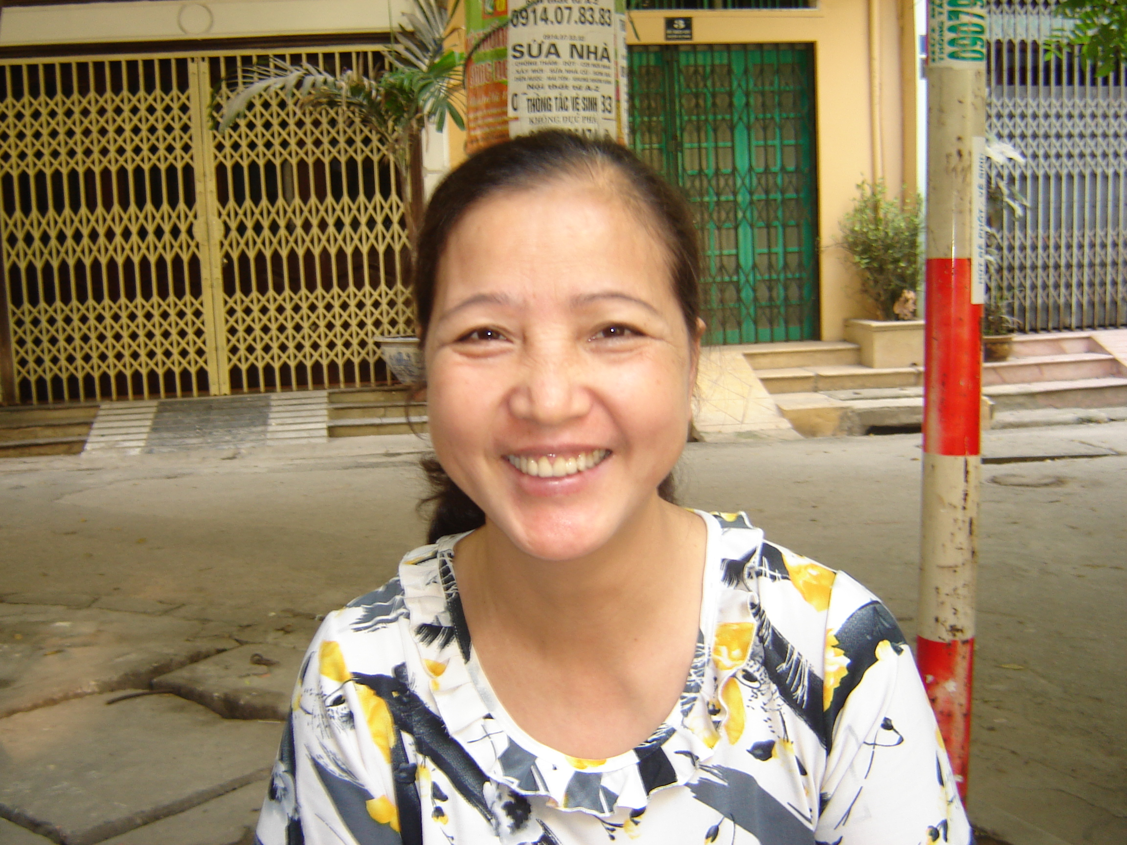 Chị Nguyễn Thị  Yến - Nội trợ