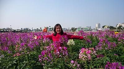 Chị  Phạm Hương Giang
